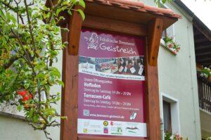 Willkommen im Geist-Reich-Hofladen und Café